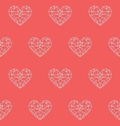 Heart patterno1 vector