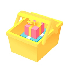 icon gift boxes vector image vector image