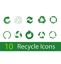Recycle signs vector