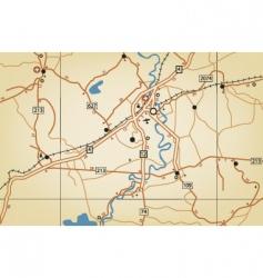 roadmap vector image vector image