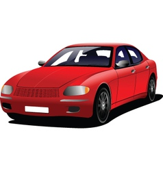 Casual car models vector