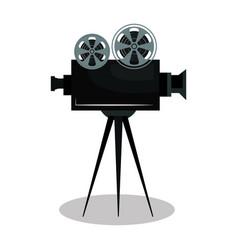 video camera cinema icon vector image
