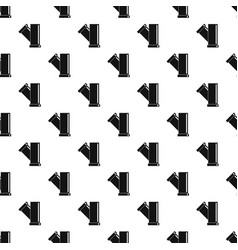 Tee fitting pipe pattern vector