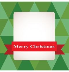 Christmas background  Merry Christmas vector image