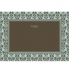 pattern and frame vector image