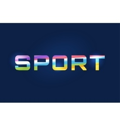 Sport logo text leader winner football vector