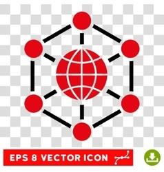 Global web eps icon vector