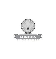 London United Kingdom city symbol vector image