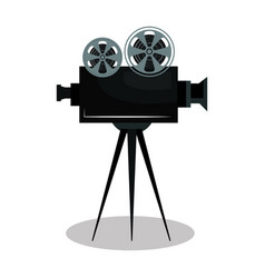 video camera cinema icon vector image