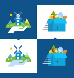 Support for environmental cleanliness delivery vector