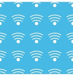 Wi-fi straight pattern vector