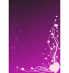 purple wallpaper vector image