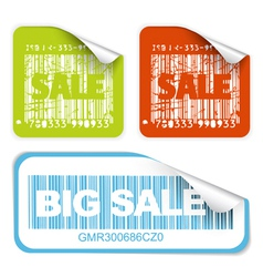 bar codes vector image