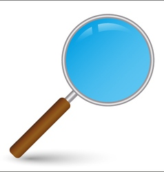 Search icon magnifier vector