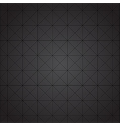 Dark grid texture vector image vector image