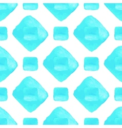 Sky blue seamless pattern Watercolor vector image