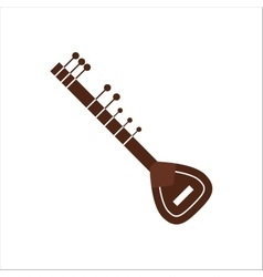 Indian musical instrument vector