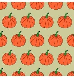Doodle halloween pattern vector