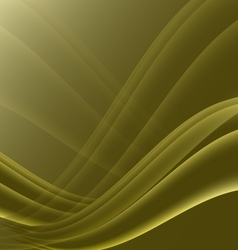 Yellow and black waves modern futuristic abstract vector