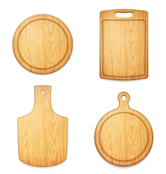 Set of boards vector
