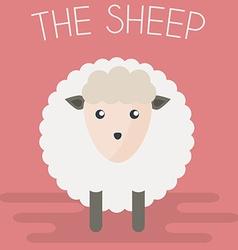Sheep mascot vector image