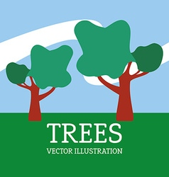 Tree design vector image