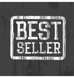 Best seller stamp vector