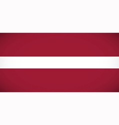 National flag of Latvia vector image