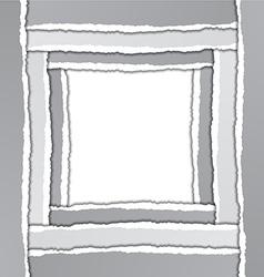 Torn Paper Border vector image