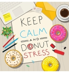 Funny phrases about stress vector