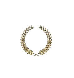 wreath computer symbol vector image