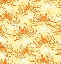Chrysanthemum pattern vector image