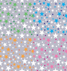 Background shining stars vector
