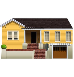 A residential property vector image