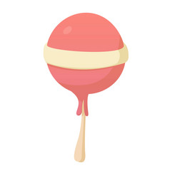Tasty candy icon cartoon style vector
