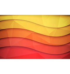 Abstract 3d background vector image vector image