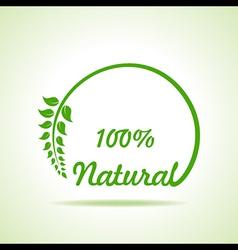 Eco friendly website icon stock vector