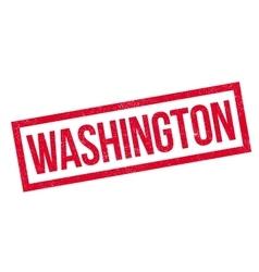 Washington rubber stamp vector image