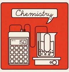 laboratory icons vector image