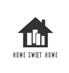 Icon home sweet home village vector