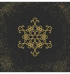Asian mandala symbol vector