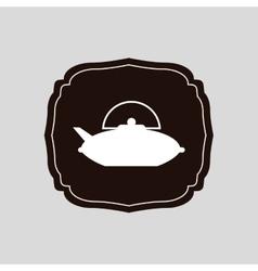 Delicious tea drink vector