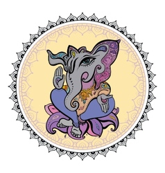 Lord Ganesha Hand drawn vector image