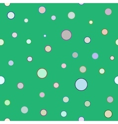 Polka dot color seamless pattern vector image