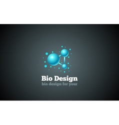 Bio Design vector image