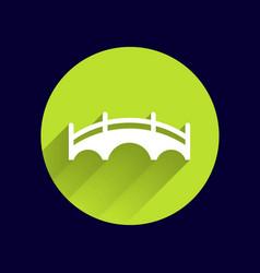 bridge icon button logo symbol concept vector image vector image