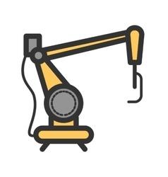 Industrial robot iii vector