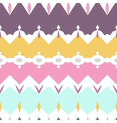 Seamless geometric pattern textiles design pastel vector
