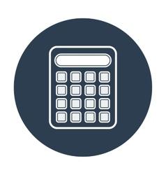 Calculator icon Flat design vector image vector image