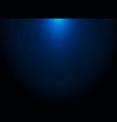 Dark blue gradient modern elegant with lighting vector